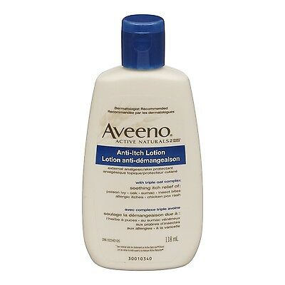Aveeno Anti-Itch Concentrated Lotion 4 Ounce , Free Shipping
