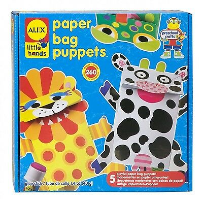Alex Toys Little Hands Paper Bag Puppets , Free Shipping