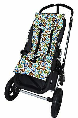 Tivoli Couture NuComfort Memory Foam Stroller Liner Silly Mon... , Free Shipping