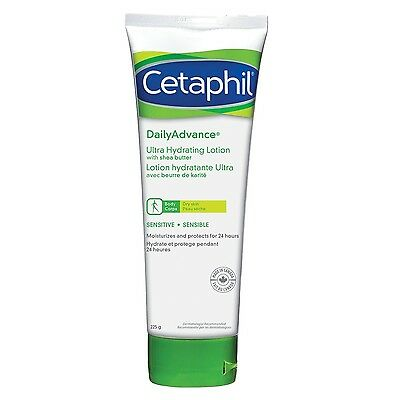 Cetaphil DailyAdvance Ultra Hydrating Lotion 225g , Free Shipping