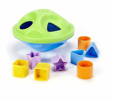 Green Toys My First Shape Sorter Green/Blue , Free Shipping
