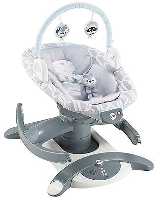 Fisher-Price 4-In-1 Rock 'n Glide Soother - Waterscape , Free Shipping
