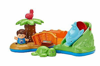 Fisher-Price Little People Spill 'n Surprise Island , Free Shipping