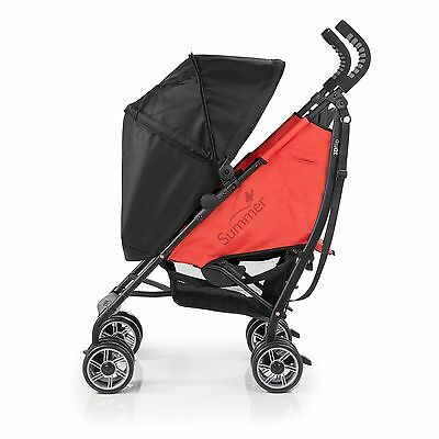 Summer Infant 3D Flip Convenience Stroller Black/Red , Free Shipping