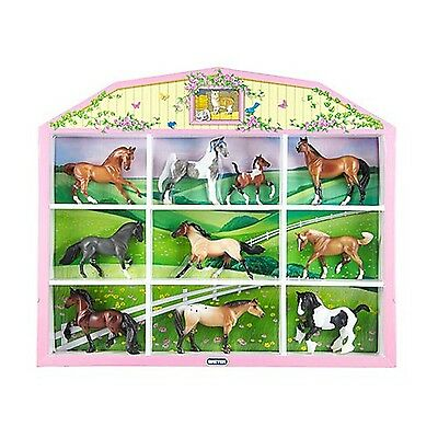 Breyer Stablemates Horse Lover's Collection Shadow Box , Free Shipping