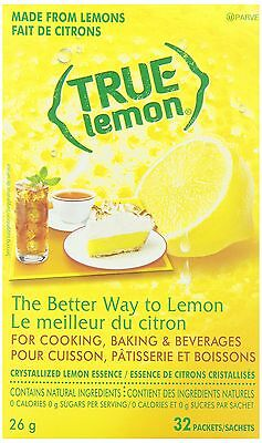 TRUE LEMON True Lemon True Lemon Beverage Powder 32-Count 25.8G , Free Shipping