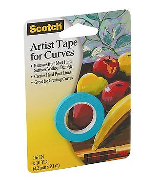 3M Scotch 1/8-Inch Artist Curves Tape , Free Shipping