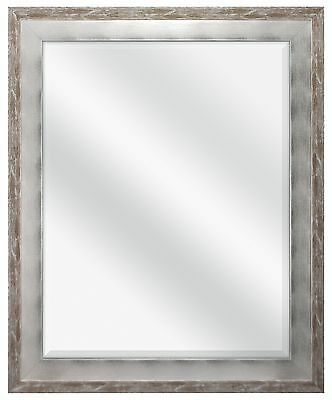 MCS 22 by 28-Inch Beveled Mirror 28 by 34-Inch Concrete and S... , Free Shipping