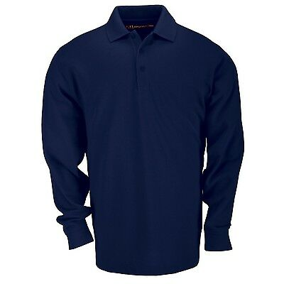 5.11 Tactical Series 72360 Polo Long Sleeve T-shirt (Dark Nav... , Free Shipping