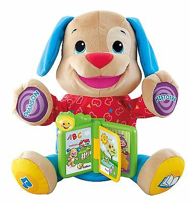 Fisher-Price Laugh & Learn Singin' Storytime Puppy - French , Free Shipping