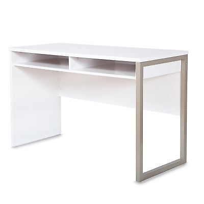 South Shore Furniture Interface Desk Pure White , Free Shipping
