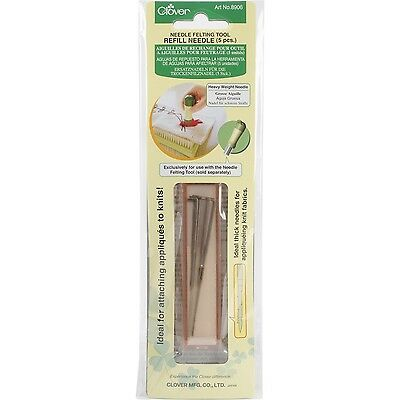 Clover Felting Needle Refill Heavy Weight , Free Shipping