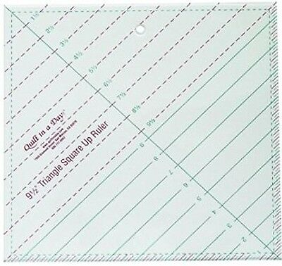 Quilt In A Day Triangle Square Up Ruler , Free Shipping