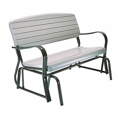 Lifetime 2871 Indoor/Outdoor Glider Bench Putty , Free Shipping