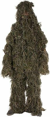 Modern Warrior Woodland and Forest Design Ghillie Suit 3-Piece , Free Shipping