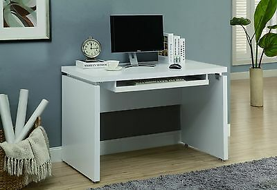 Monarch Specialties Computer Desk 48-Inch White , Free Shipping