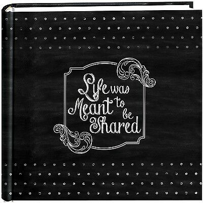 """Pioneer Photo Albums 200-Pocket Chalkboard Printed """"Shared"""" T... , Free Shipping"""