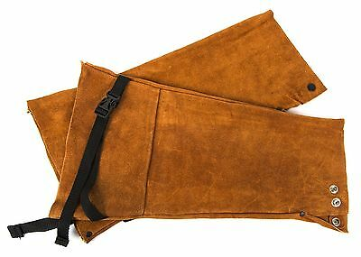 Forney 57200 Welding Sleeves Flame Retardant 18-Inch Brown , Free Shipping