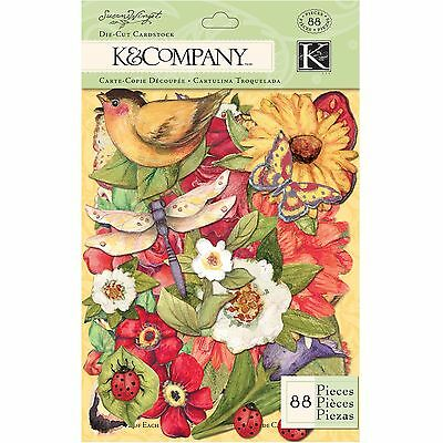 K and Company Susan Winget Meadow Die-Cut Cardstock , Free Shipping