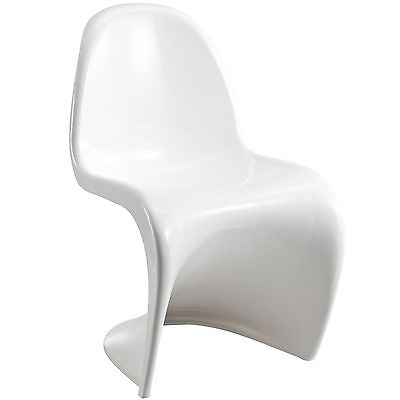 Modway Slither Dining Side Chair White , Free Shipping