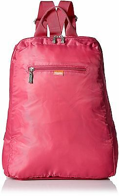 Baggallini Fold Out Backpack Pink One Size , Free Shipping