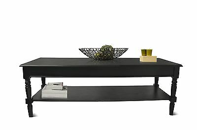 Convenience Concepts French Country Coffee Table Black , Free Shipping