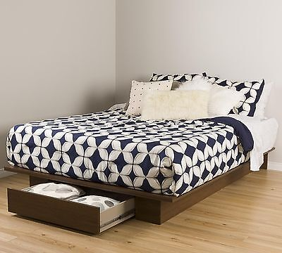 South Shore Furniture 54/60-Inch Primo Platform Bed with Draw... , Free Shipping