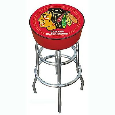 NHL Chicago Blackhawks Bar Stool , Free Shipping