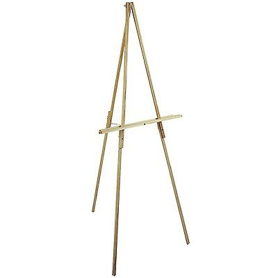 Loew-Cornell 65-Inch Natural Wood Floor Easel , Free Shipping