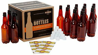 Mr. Beer 1/2 Liter Deluxe Home Brewing Beer Bottling Set 1/2 ... , Free Shipping