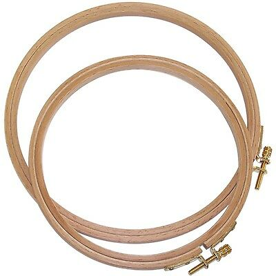 Edmunds 202-6 Hoops German Hand or Machine Embroidery Hoop 6-... , Free Shipping