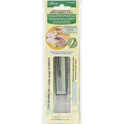 Clover Felting Needle Refill Fine Weight , Free Shipping