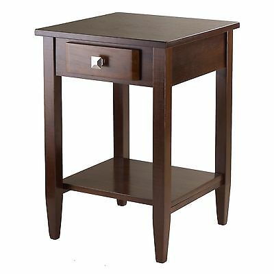 Winsome Wood Richmond End Table with Tapered Leg , Free Shipping