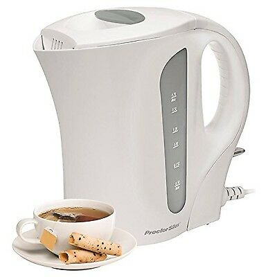 Proctor-Silex K3080 1.7 Litre Jug Kettle (White) White , Free Shipping