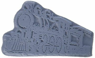 Class Act Cling Mounted Rubber Stamp 2.75 by 3.75-Inch Train 2 , Free Shipping