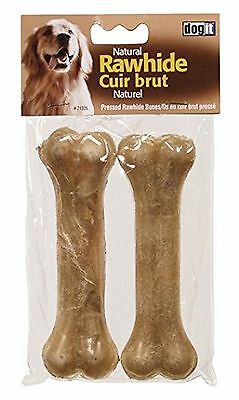 Dogit Pressed Rawhide Knuckle Bone Large 15cm (6-Inch) 85-90 ... , Free Shipping