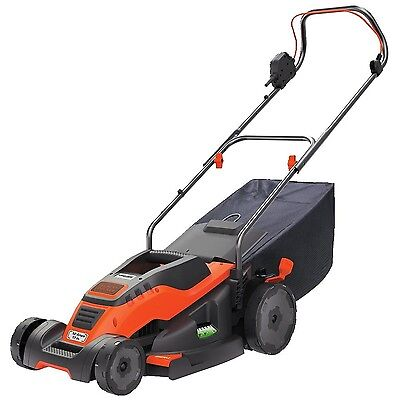 BLACK + DECKER EM1700 17-Inch Corded Mower with Edge Max 12-Amp , Free Shipping