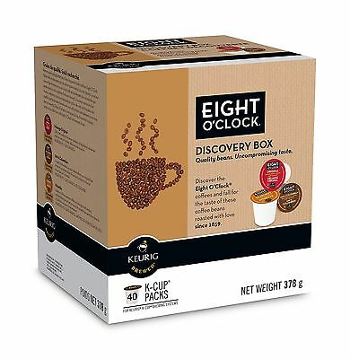 Eight O`Clock Discovery Box K-Cups , Free Shipping