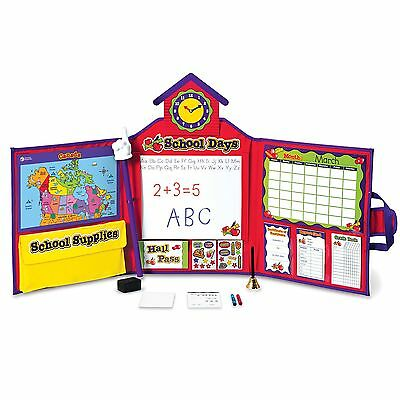 Learning Resources Pretend and Play School Set Canadian Version , Free Shipping