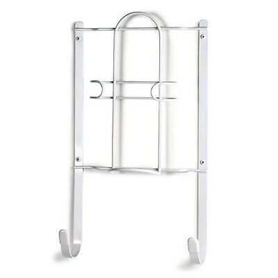 Spectrum 36200 Iron and Ironing Board Holder White , Free Shipping