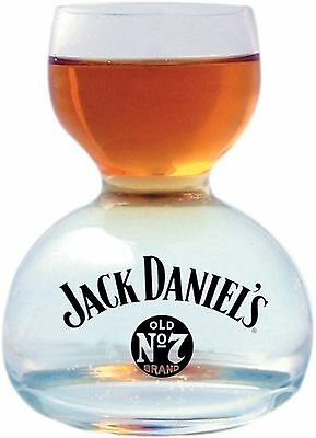 Jack Daniel's Whiskey On Water Glass New