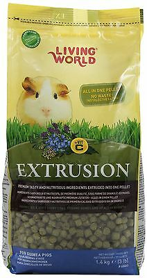 Living World Extrusion Guinea Pig Food 3.3-Pound New