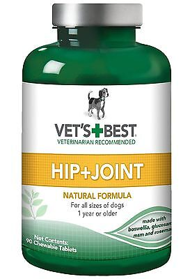 Vet's Best Hip and Joint Level 1 90 Tablets New