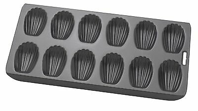 HIC Brands that Cook Mrs. Anderson's Baking Non-Stick Madeline Pan 12-Cup New