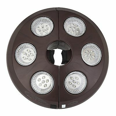 Blue Wave 6-Light Rechargeable LED Umbrella Light New
