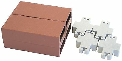 Argee RG825 Lets Edge It Decorative Plastic Brick Edging No Lights 25-Fee... New