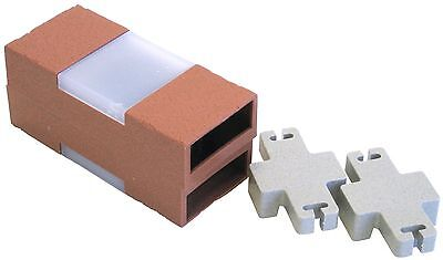 Argee RG840S Let's Light It 40-Feet Decorative Plastic Brick Edging with ... New