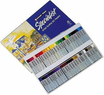 Cray-Pas Sakura ESP50 Specialist Assorted Colors Oil Pastel Set Multicolo... New