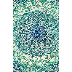 NEW Personalised Luggage Tag - Mandala from Gogo Gear Travel Accesssories