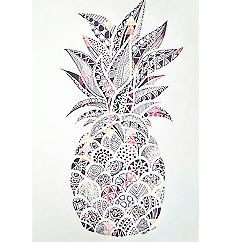 NEW Personalised Luggage Tag - Pineapple from Gogo Gear Travel Accesssories